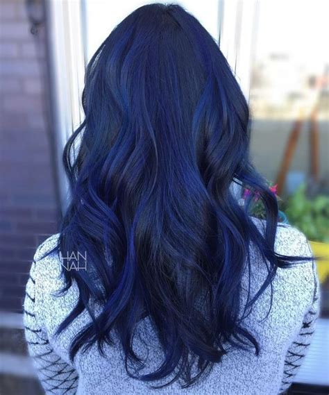hair color for 40 with blie 17 best ideas about dark blue hair on pinterest navy