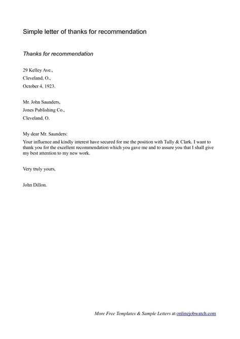 Basic Letter Of Recommendation Template Letters Free Sle Letters Easy Letter Template