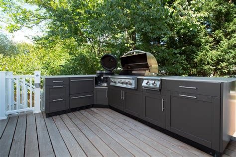 outdoor cabinets kitchen danver stainless steel kitchen and screened porch in bethesda md