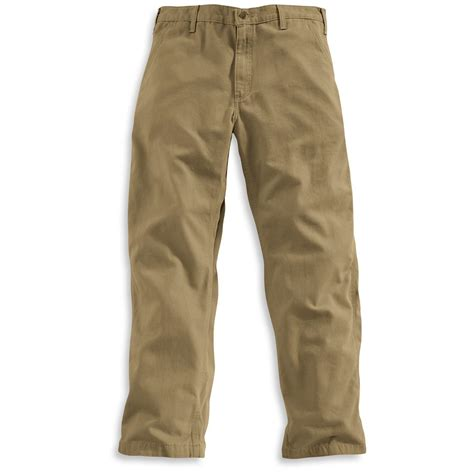Khakis Pant s carhartt 174 workwear 30 quot inseam canvas khakis 184145 at 365 outdoor wear