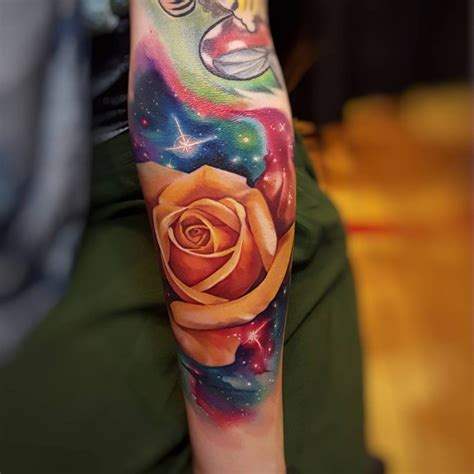 orange rose tattoo 50 magnificent tattoos tattoomagz