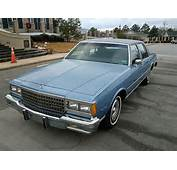 1980 Chevrolet Caprice Classic Coupe 38L V 6 Automatic