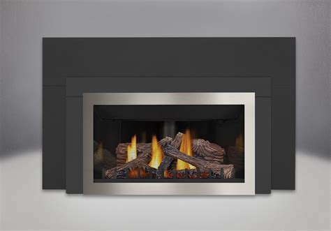 napoleon three sided painted black napoleon inspiration zc gas fireplace insert gdizc
