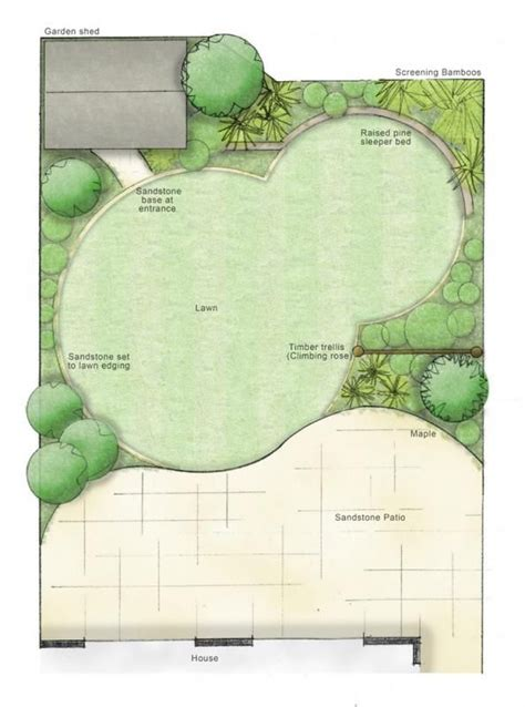 Small Garden Layout Plans Best 20 Small Garden Design Ideas On Small Garden Landscape Simple Garden Designs