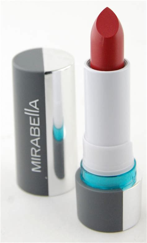 Mirabella Lipstick Swatches mirabella cheeky blush and colour vinyl lipstick review swatch and review