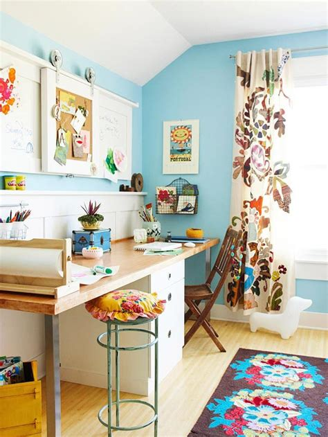 colorful home office design inspiration home decorating blog community ls plus