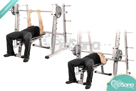 bench press with smith machine smith machine close grip bench press