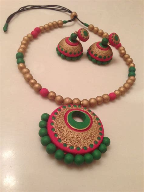 255 best images about terracota jewellery on