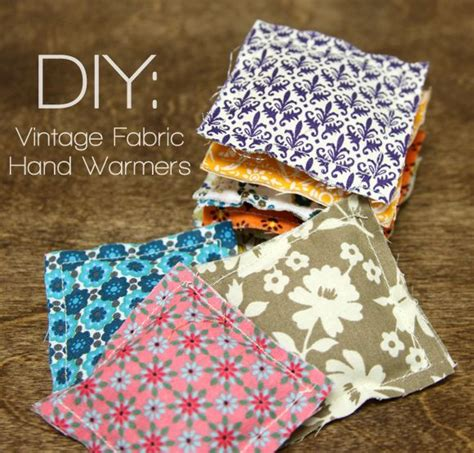 diy hand warmers sewing tutorial tips from a typical mom make hand warmers sewing projects pinterest vintage