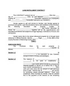 Agreement Letter Of Land Sle Land Contract Form 8 Free Documents In Pdf Doc