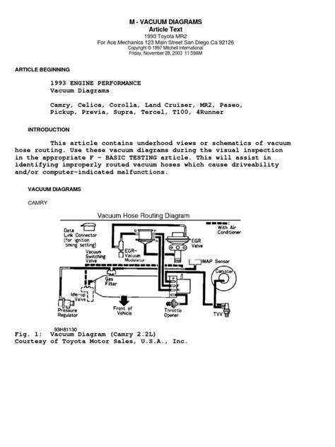 1993 toyota paseo engine diagram free wiring