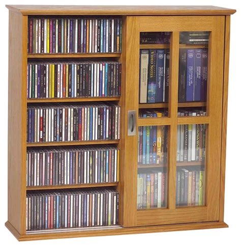 Dvd Storage Cabinet With Sliding Doors Leslie Dame Mission Wall Hanging Two Sliding Door Cd Dvd Cabinet Traditional Media Cabinets