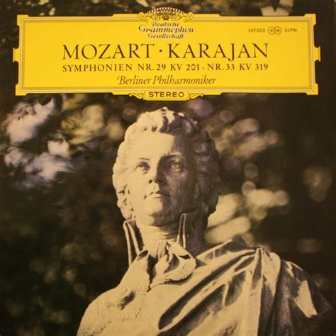 mozart biography deutsch herbert von karajan vinyl record albums