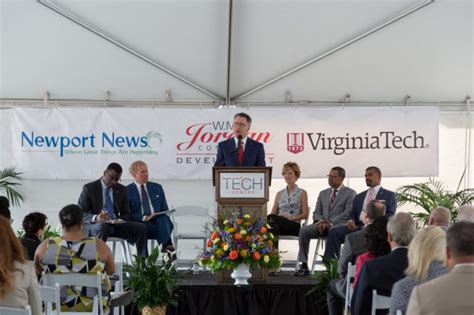 construction begins at newport news research park modeled