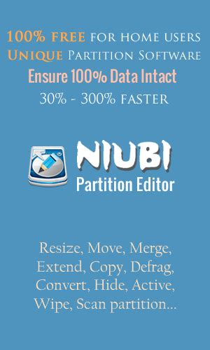 best free disk partition software best partition software for windows niubi partition editor