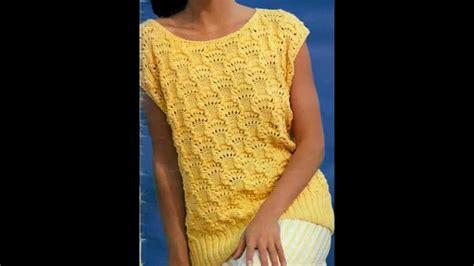 como tejer de gancho blusas patr 243 n para tejer blusa larga a 2 agujas y terminaci 243 n