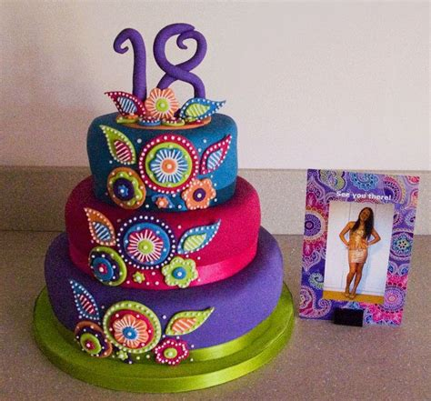 colour themes for 18th birthday birthday cakes 18th birthday cake based on the