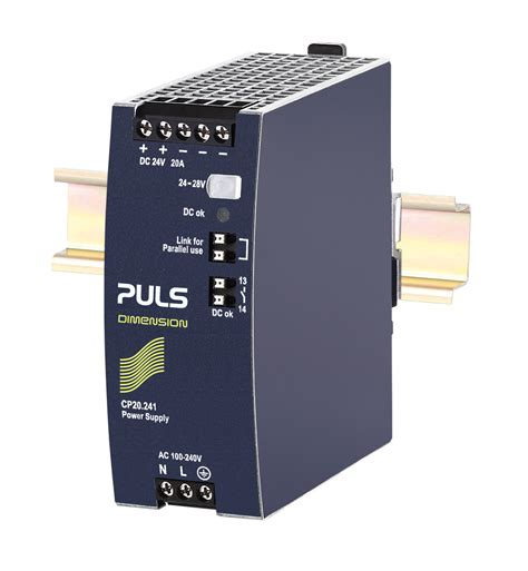 www power puls products cp20 241 din rail power supplies for 1