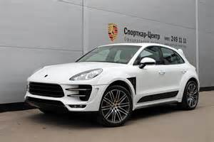 Porsche Macan White White Porsche Macan Ursa By Topcar For Sale Autoevolution