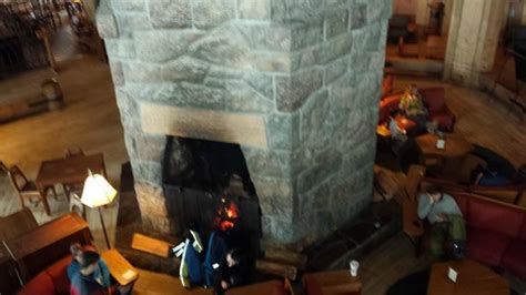 Timberline Lodge Fireplace by View From Inside Picture Of Timberline Lodge Timberline