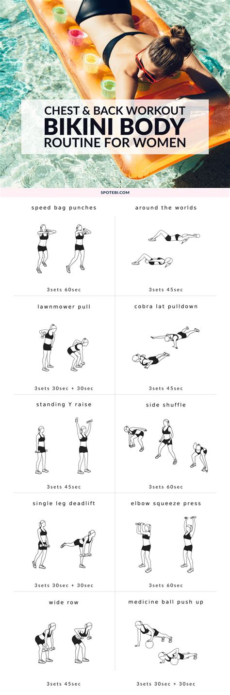 chest back workout