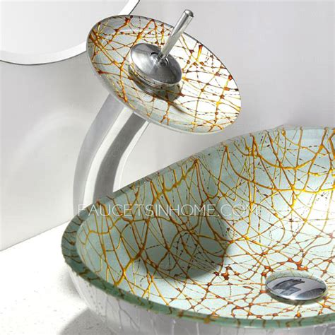 oval glass vessel sink designed oval glass vessel sink single bowl with faucet