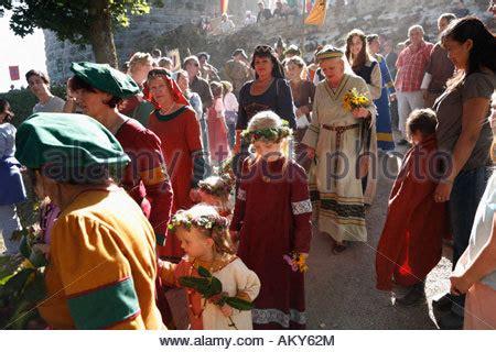 botenlauben castle festival in castle ruin botenlauben bodenlaube bad