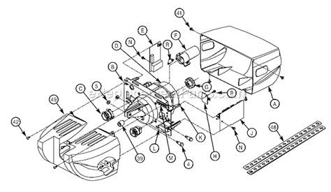 genie garage door opener parts diagram genie 2060l parts list and diagram ereplacementparts