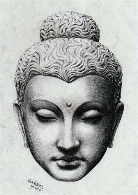 buddha head tattoo buddha sketch image gautama buddha sketch 30 most