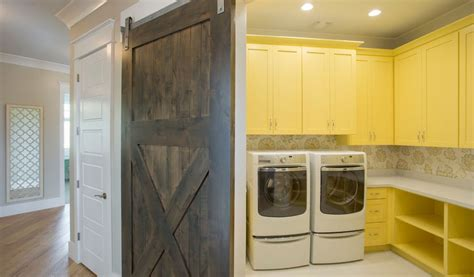 50 Ways To Use Interior Sliding Barn Doors In Your Home Interior Laundry Room Doors