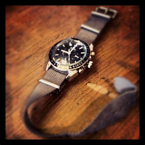 Silver Nato Olive Large my omega speedmaster with grey cloth nato watches