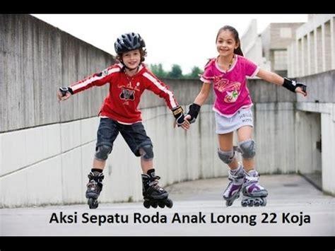 Sepatu Roda Freedom 4 years at skate park inline skate anak belajar