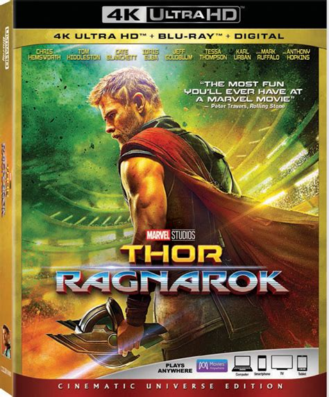 Bluray Ori Original Warrior 4k Uhd thor ragnarok 4k and digital release date and details updated thehdroom