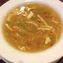 bangkok house lansing the soup that comes with the meal i m not sure what it s called sweet and spicy
