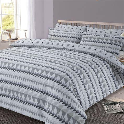 Bettwäsche Größen by R 220 Ckspulen Geometrisch King Size Bettbezug Und