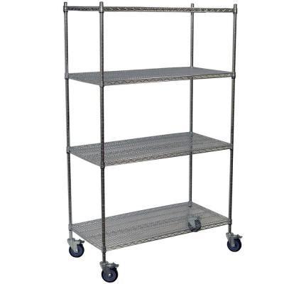 storage concepts 80 in h x 48 in w x 24 in d 4 shelf