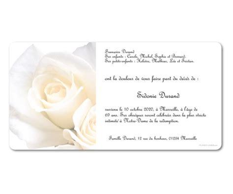 remerciement deces paix et roses blanches planet cards