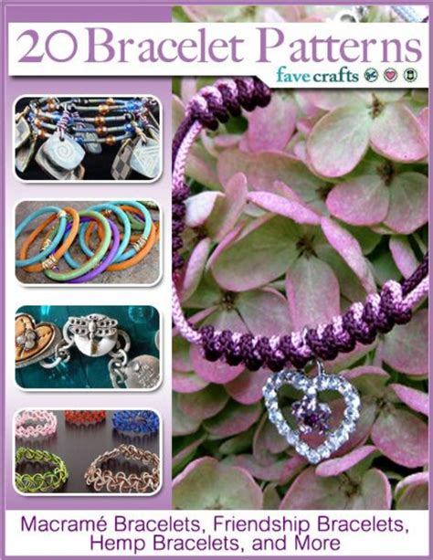 20 bracelet patterns macram bracelets friendship bracelets hemp brace
