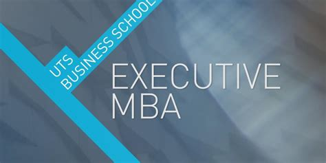 Master Of Engineering Management Mba Uts by Executive Master Of Business Administration