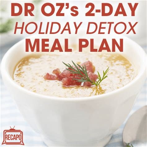 Dr Oz Detox Soups Diet by Dr Oz Fast Flush Water Cabbage Salad Lentil Soup
