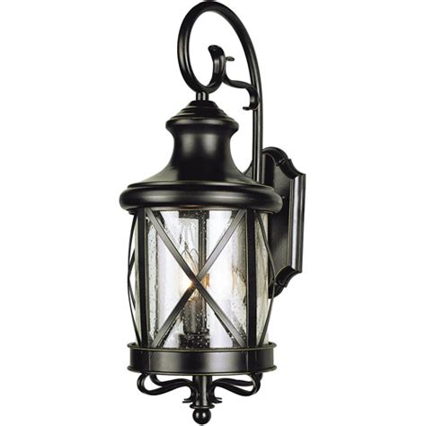 Light Fixtures At Walmart Belaire Garden 19 Quot Outdoor Wall Light Bronze Walmart