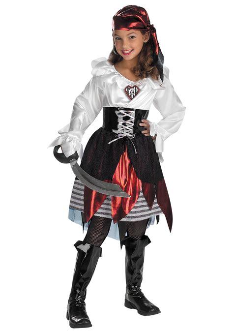 pirate lass child costume pirate costumes