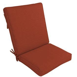 Jaclyn Smith Today Patio High Back Chair Cushion   Russell