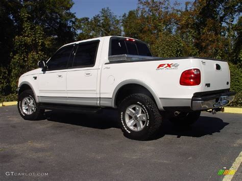 Ford F150 2003 by 2003 Oxford White Ford F150 Lariat Fx4 Road Supercrew