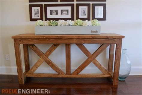 how to build a sofa table diy tables for every room in your home her tool belt