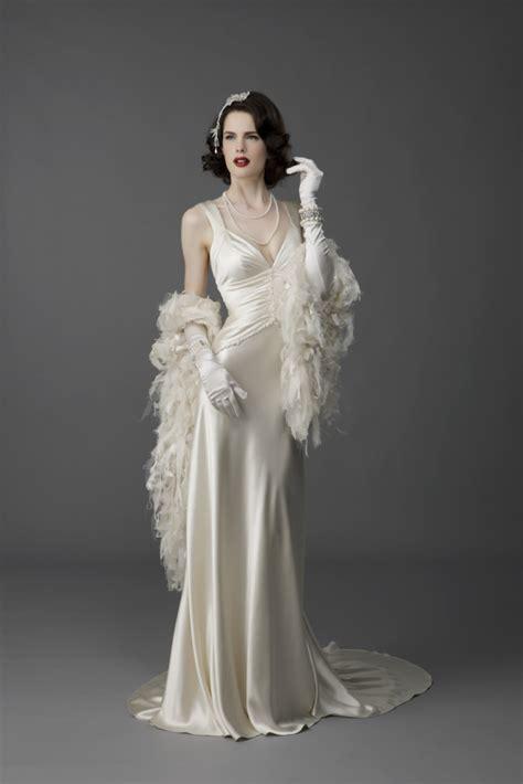 Vintage Silk Wedding Dresses by Bias Cut Silk Vintage Wedding Dress Ideal Weddings