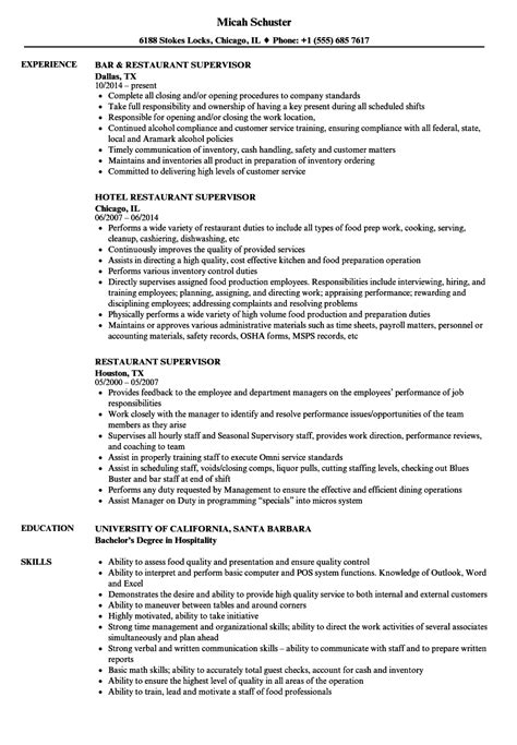 front end supervisor resume samples velvet jobs