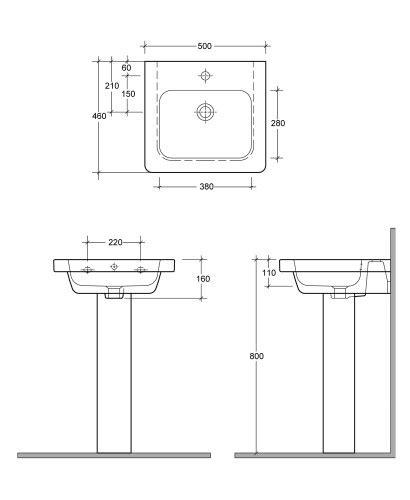 Heated Toilet Seats Resort 550 Basin Amp Standard Height Pedestal