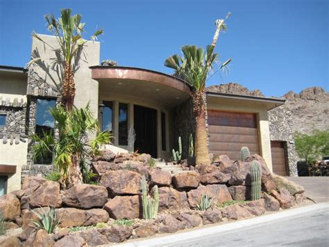Real Copper Garage Doors Match Copper Accents On The Home Martin Garage Doors Las Vegas