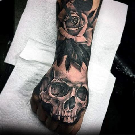 skull tattoo designs for hands 50 3d designs for masculine ink ideas